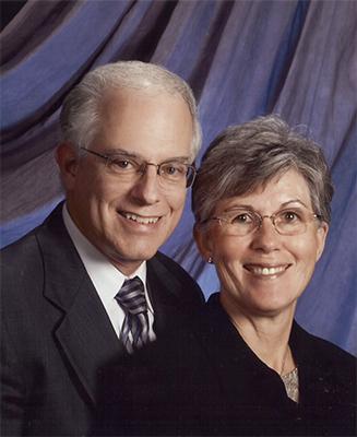Dr. David Warner and Cathy Warner